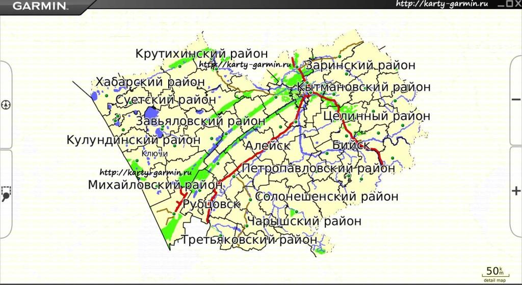 altajskij kraj big map