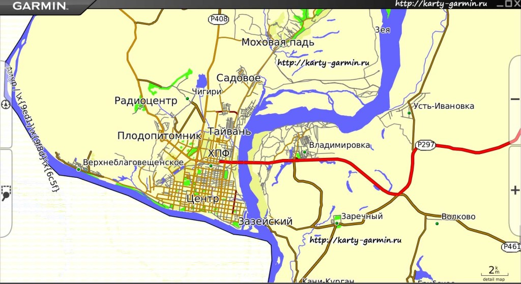 blagovewensk big map
