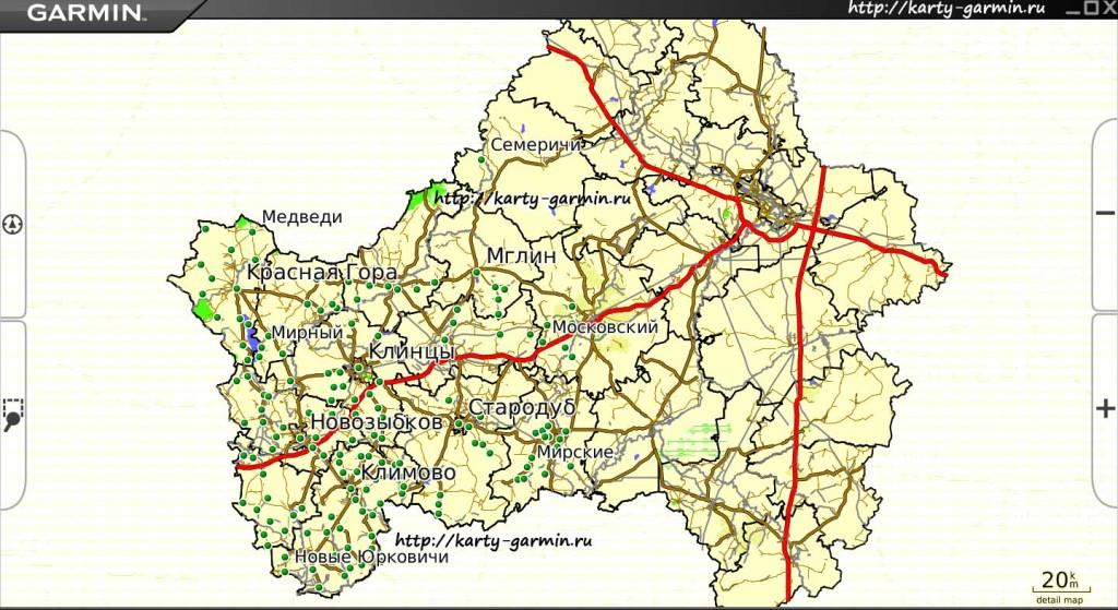brjanskobl big map
