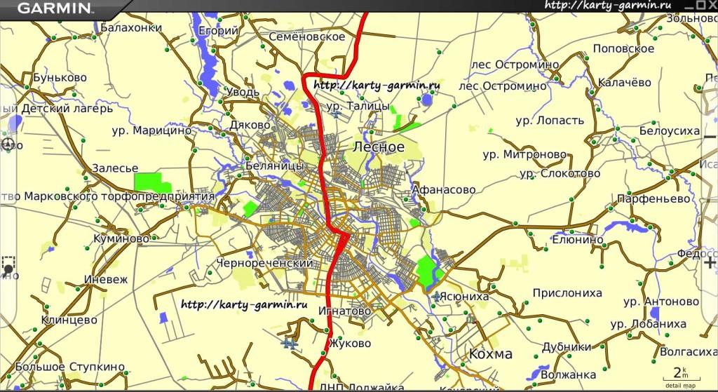 ivanovo big map