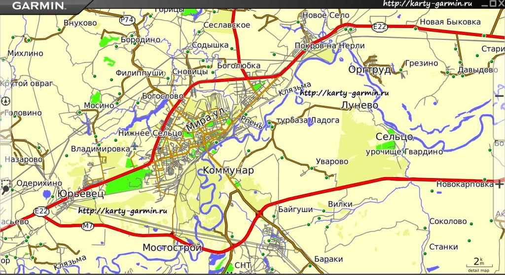 vladimir big map