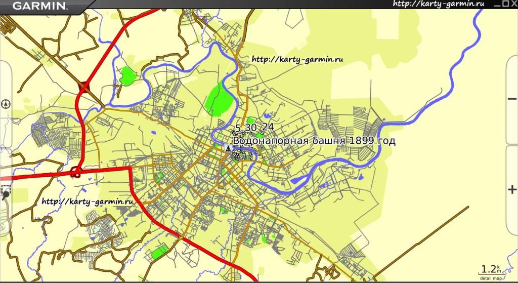 vologda big map