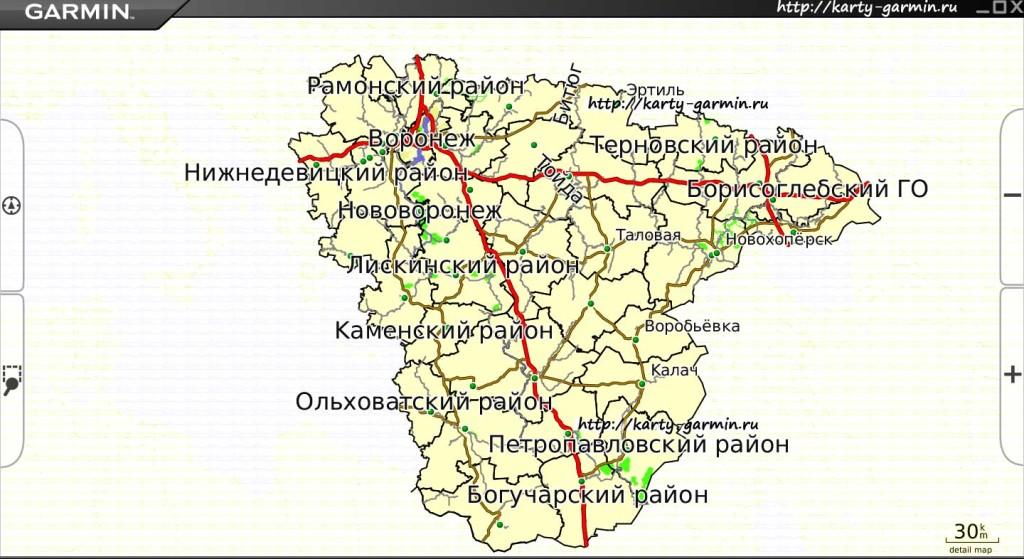 voronezhobl big map