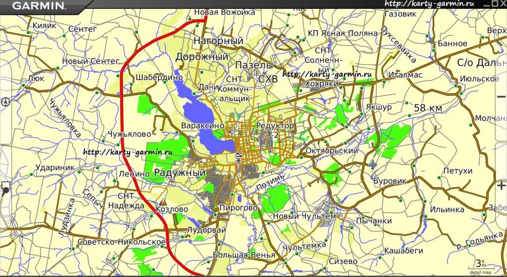 карта города ижевск для телефонов скачать