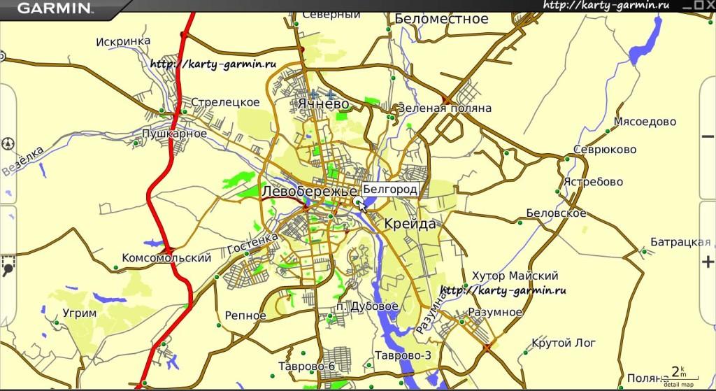 belgorod big map