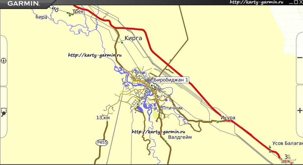 birobidzhan big map
