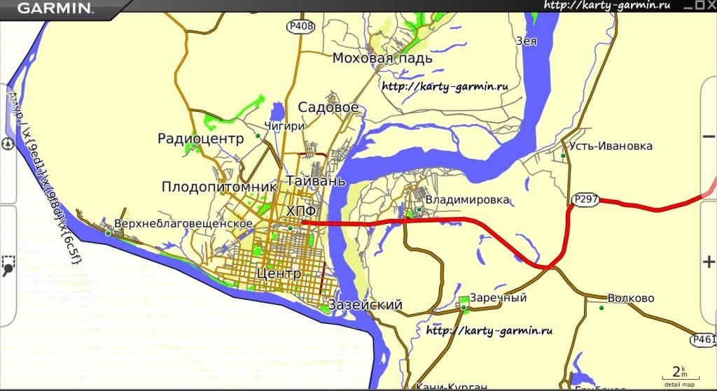 blagovewensk big map