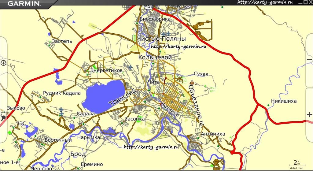 chita big map
