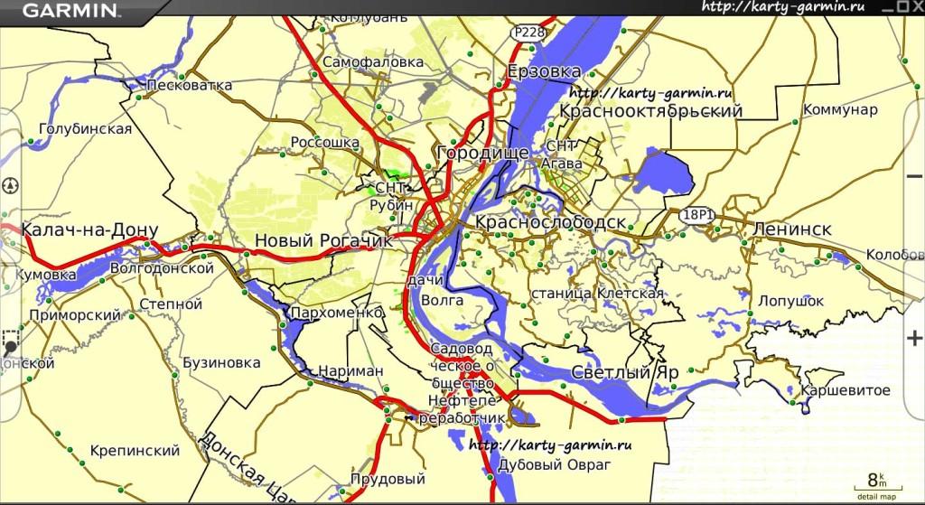 volgograd big map