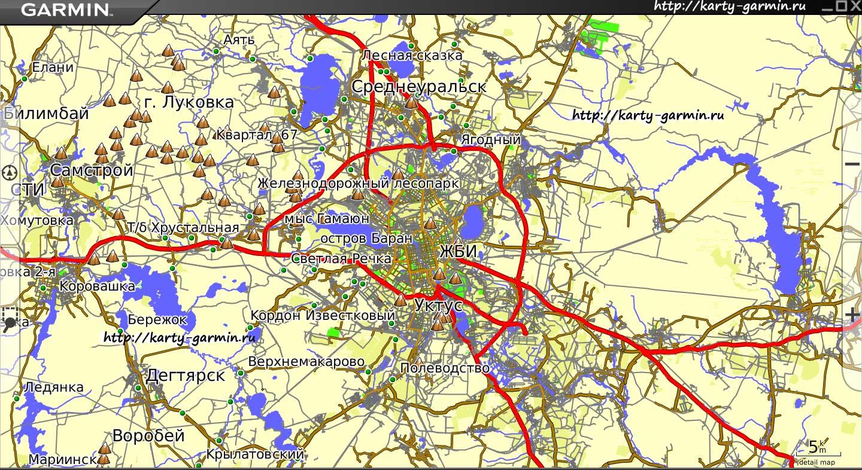 Екатеринбург картинка карты
